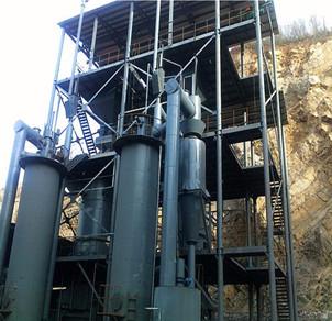 φ2.0两段煤气发生炉冷煤气站