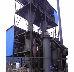 φ2.0两段煤气发生炉热脱焦煤气站