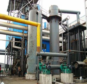φ2.6两段煤气发生炉热脱焦煤气站