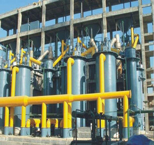 Φ3.0两段煤气发生炉冷煤气站